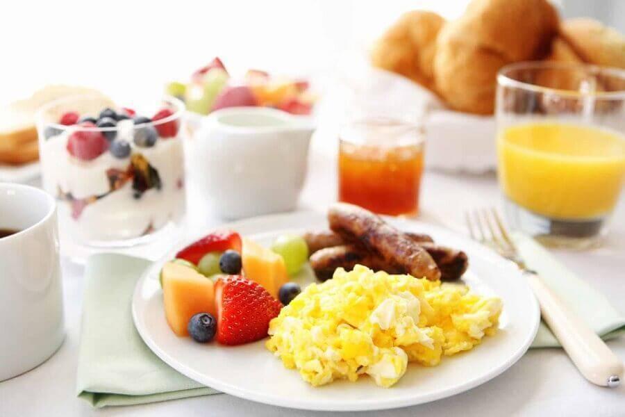 ideia para mesa de café da manhã Foto Pinterest