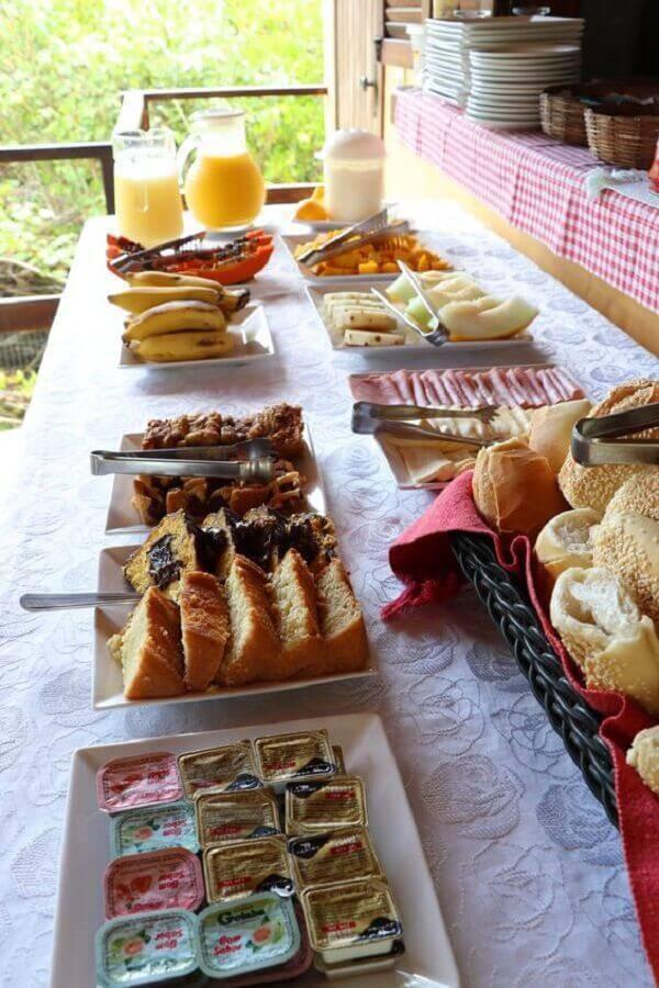 ideias para mesa de café da manhã decorada Foto Tá Na Minha Rota