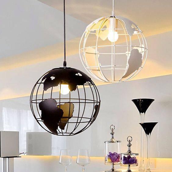 lustres modernos - lustre de globos