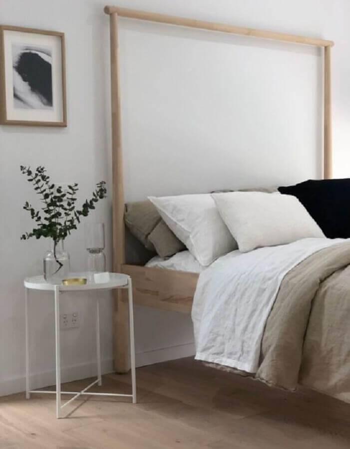 mesa de apoio para quarto simples Foto The Design Expert