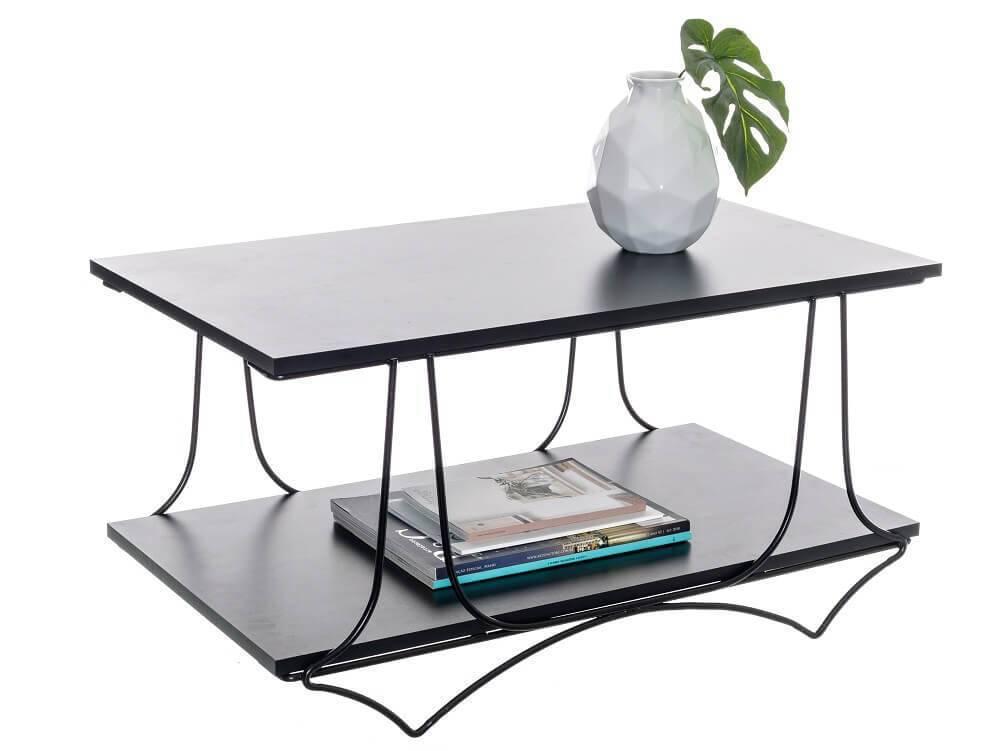 Modelo de mesa de centro decorativa aramada