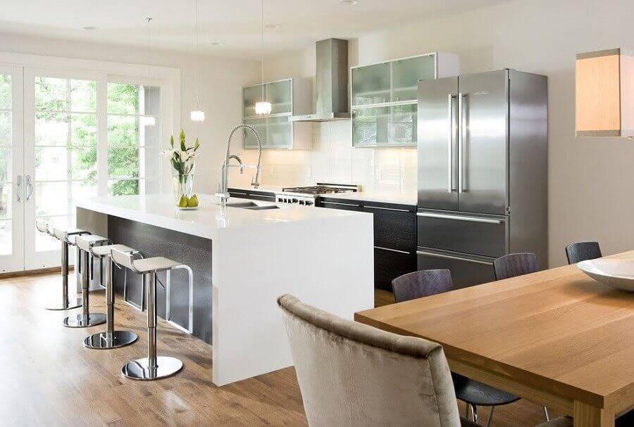 modelos de cozinha com ilha Foto Decore News Arquitetura