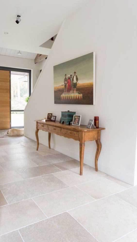 Pedra mineira na sala de casa