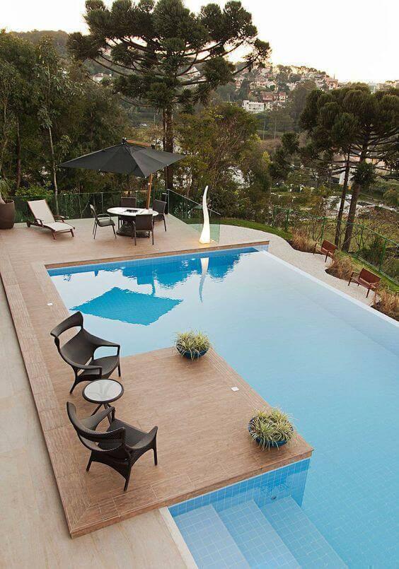 Pedra para borda de piscina