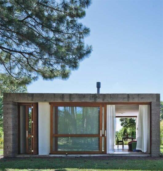 Fachada de casas simples