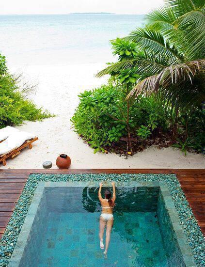 revestimento para piscina - piscina de pedra