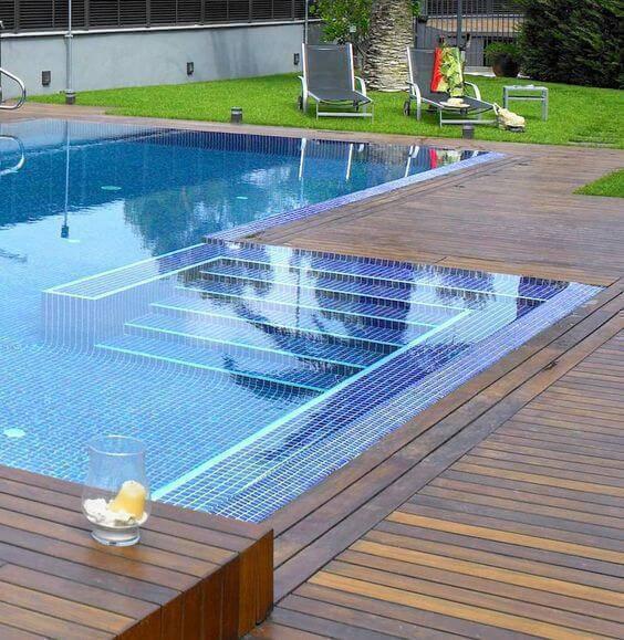 revestimento para piscina - piscina de vinil