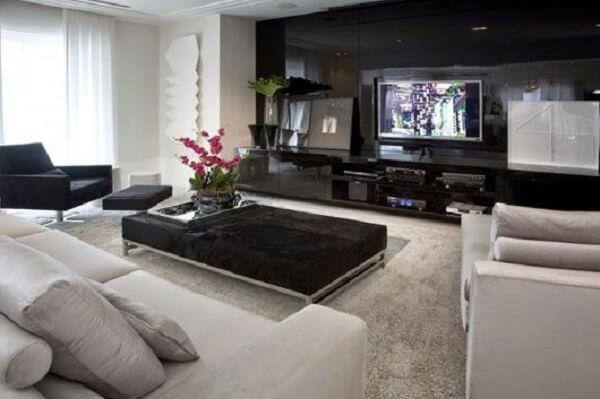 Poltronas para sala de tv com descanso para os pés