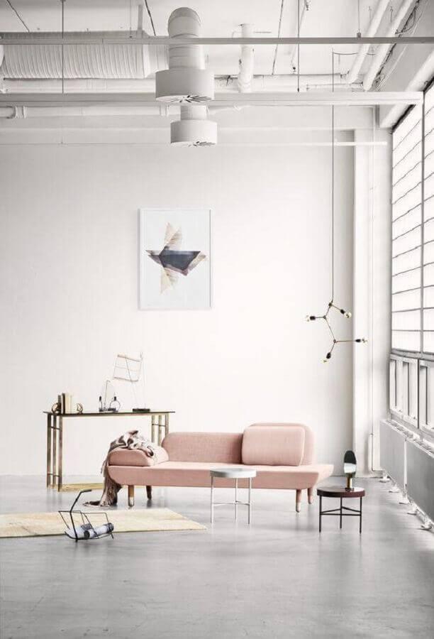 sofá sem braço com design moderno Foto Big Brain