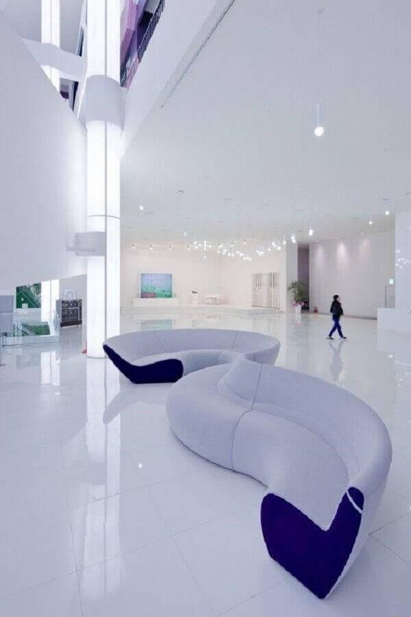 sofá sem braço moderno Foto ArchDaily
