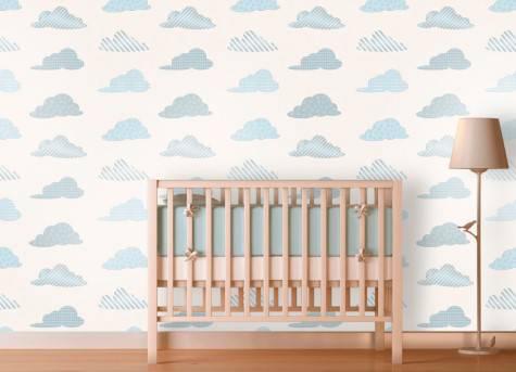 Temas para quarto de bebê com nuvens