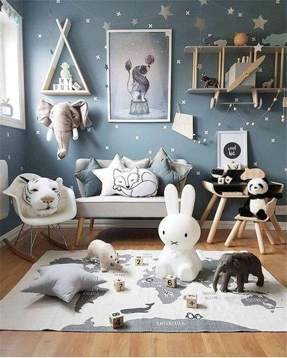 Temas para quarto de bebê circo