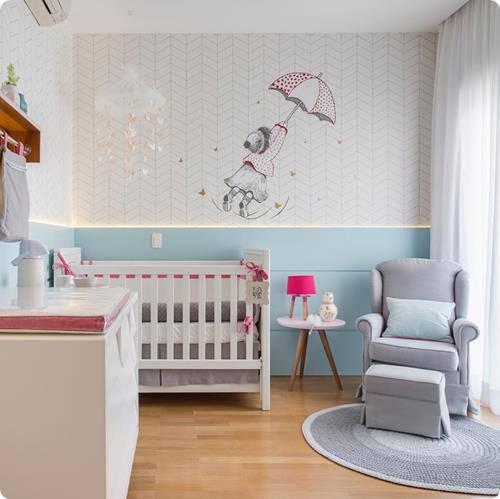 Temas para quarto de bebê feminino