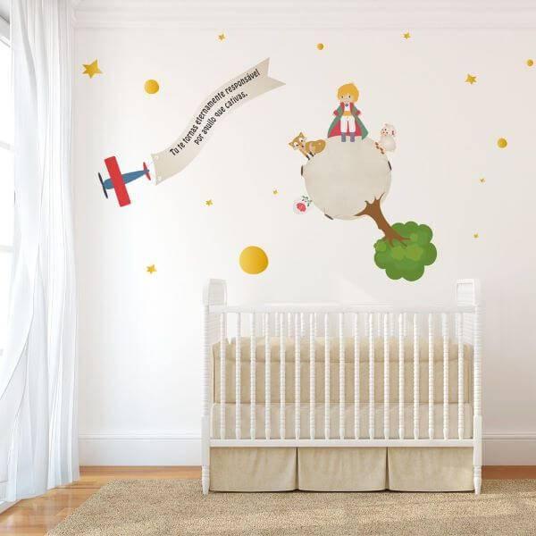 Temas para quarto de bebê do pequeno príncipe