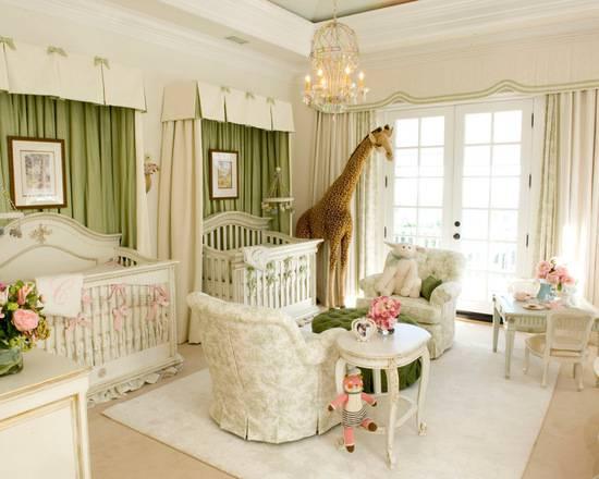 Temas para quarto de bebê safári para quarto compartilhado