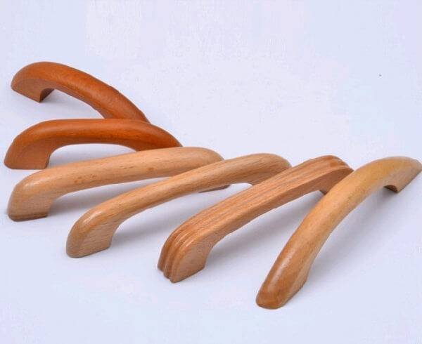 Modelos de puxadores de armário de madeira tradicionais