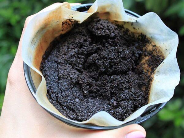 A borra de café também é muito utilizada para neutralizar odores da geladeira