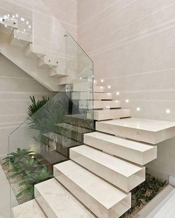 Escada de mármore - escada de mármore