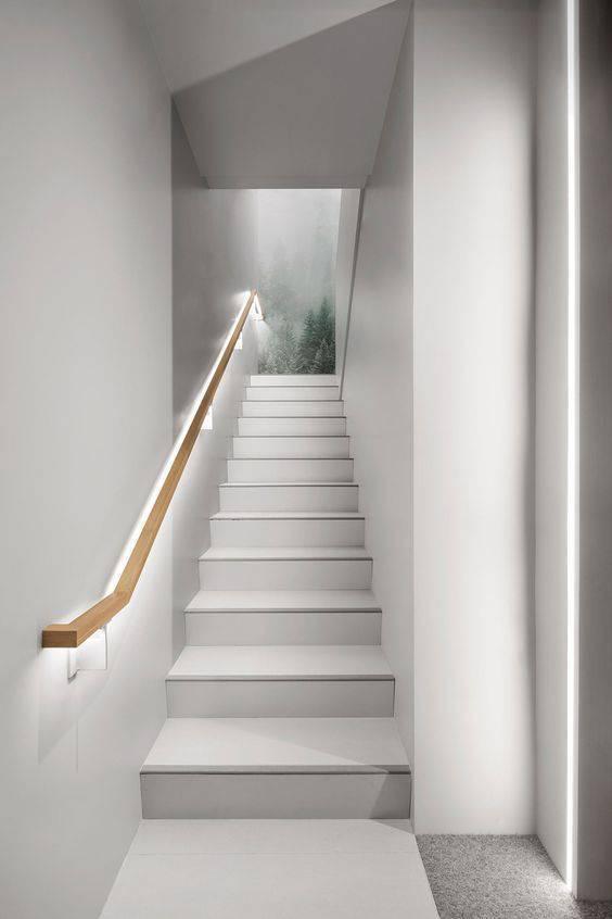 Escada de mármore - escada de mármore branco