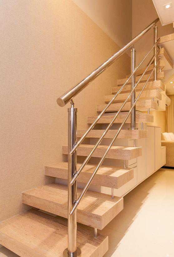 Escada de mármore - escada de mármore escuro