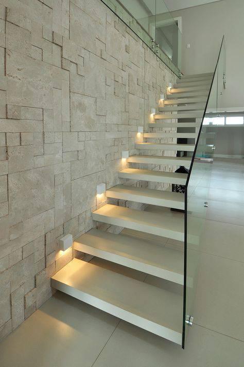 Escada de mármore - escada de mármore lavada