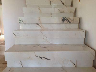 Escada de mármore - escada de mármore simples
