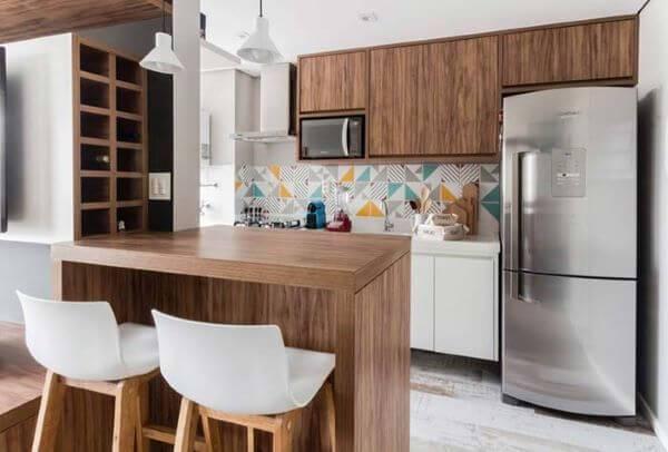 bancada-de-madeira-para-cozinha-de-madeira-decorgfacil