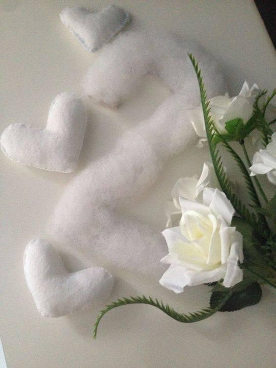 bodas de algodão - detalhe de decoração de bodas