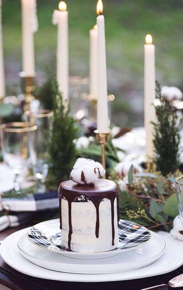 bodas de algodão - sobremesa de festa