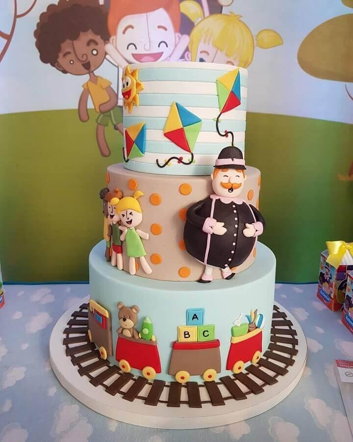 bolo para festa mundo bita Foto Cake Shop