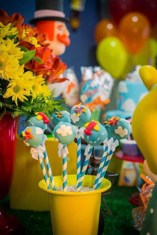 cake pop decorados para festa mundo bita Foto Ultimas Decoração
