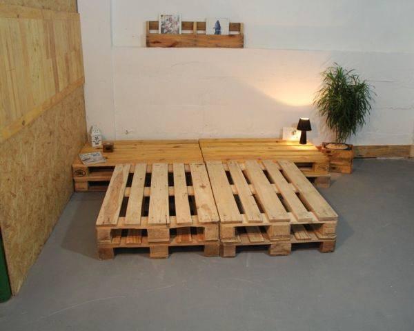 Como fazer cama de pallet em casa