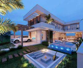 casas lindas com piscina e varanda ampla  Foto Zozu