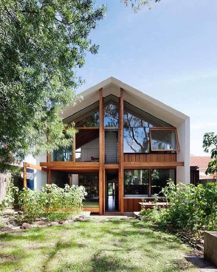 casas lindas de madeira Foto Architonic