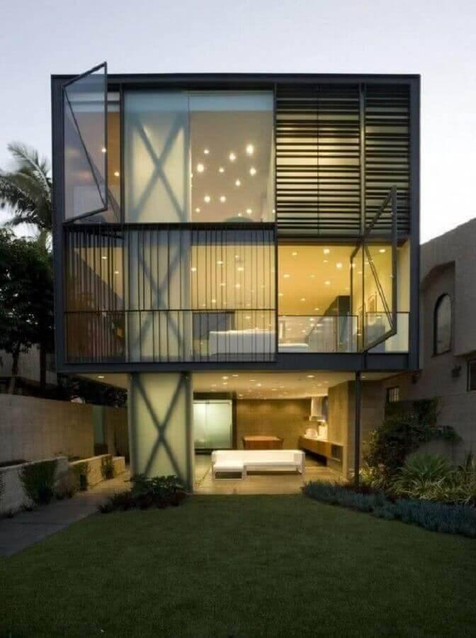 casas lindas e modernas 3 andares Foto House Design