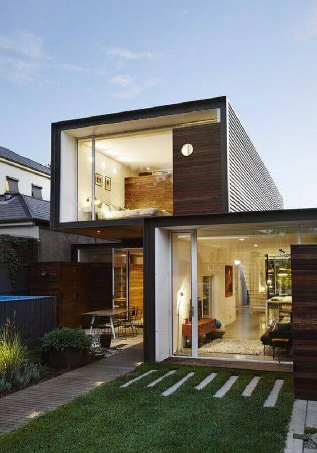casas lindas e modernas contêiner Foto ArchDaily