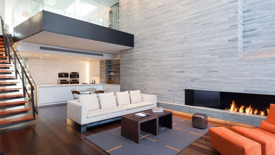 casas lindas por dentro com decoração minimalista Foto Home Interior Design