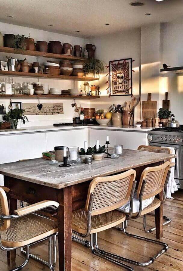 Cozinhas rústicas decoradas