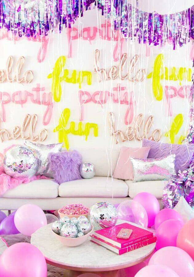 surprise party decoration for friend Foto Pinterest