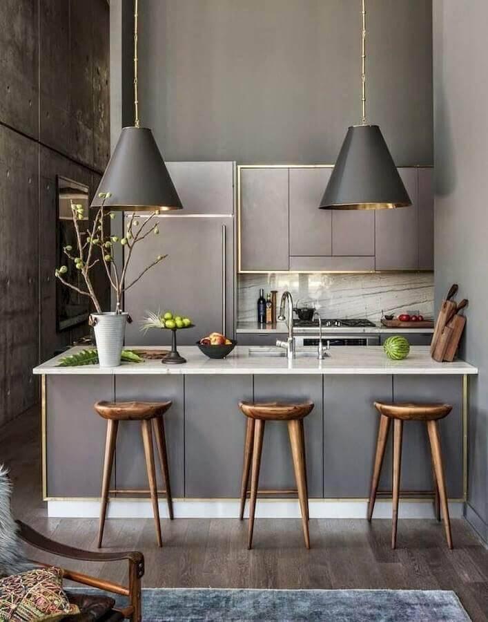 decoração industrial para casas lindas por dentro Foto Futurist Architecture