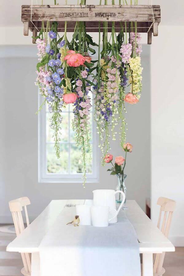 Flores para decoração de casa