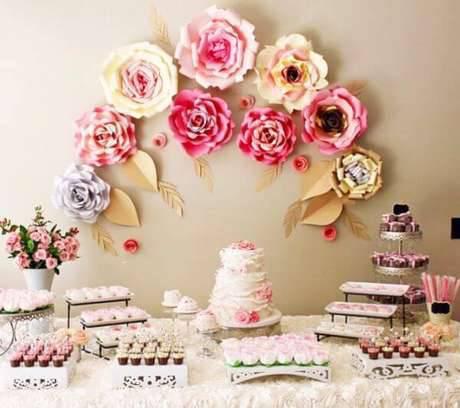 Flores para festa em casa