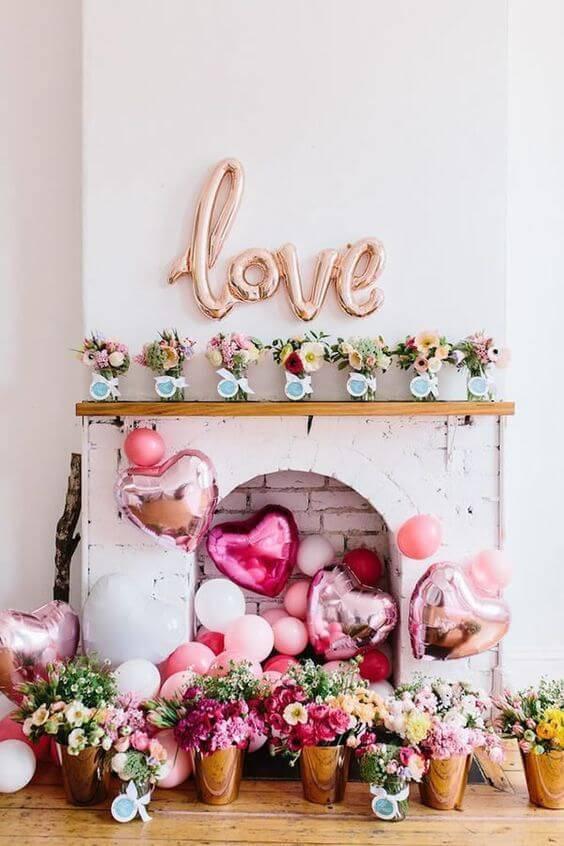 Decoração de festa em casa para casamento