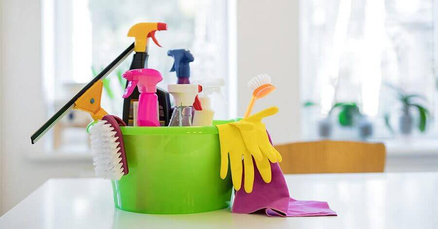 dicas de limpeza da casa Foto LiveHere