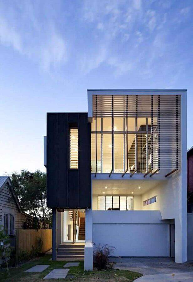 fachada de casas lindas e modernas Foto Home Interior Design