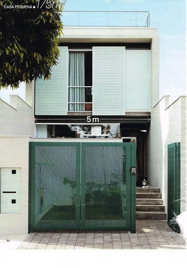fachada de casas pequenas e lindas Foto Assetproject