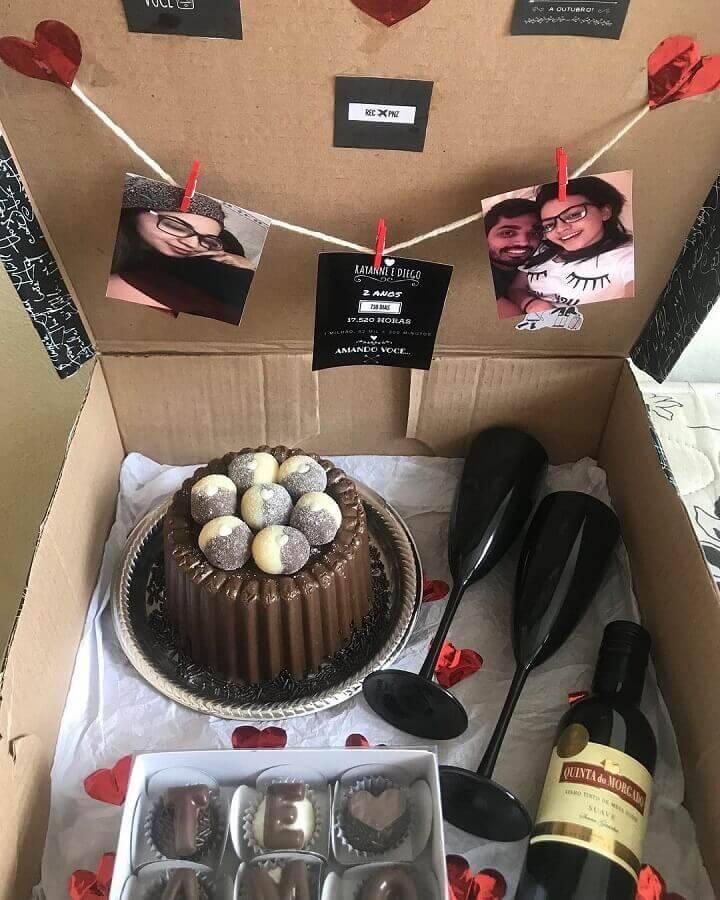 festa surpresa para namorado Foto Lissie Brigadeira