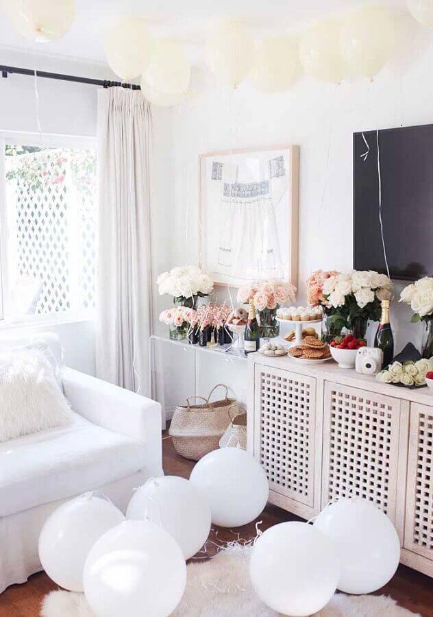 festa surpresa simples em casa Foto With Love From Kat