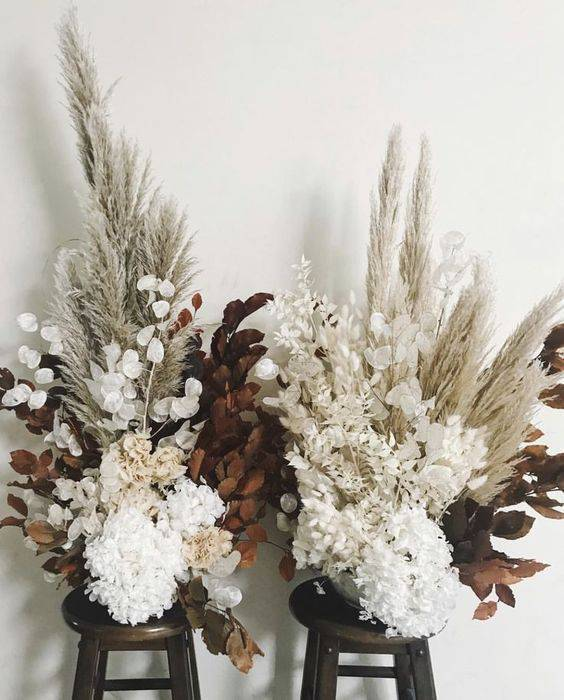 flores secas - arranjos com flores secas