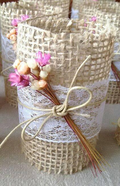 flores secas - copo com flores secas